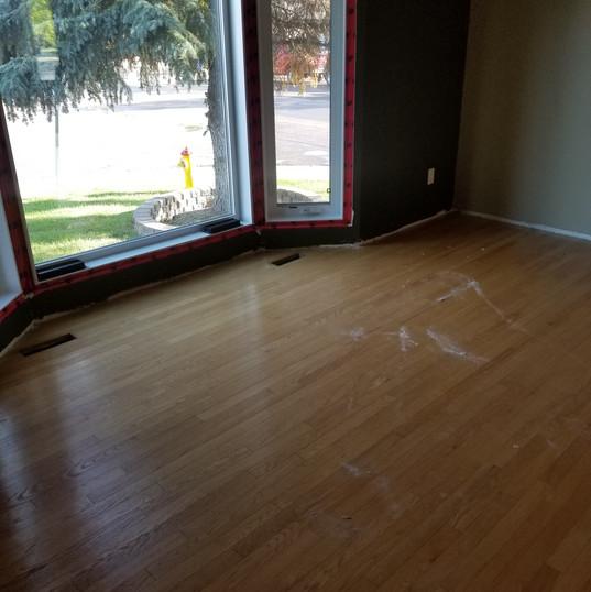 Prefinished Oak - Before