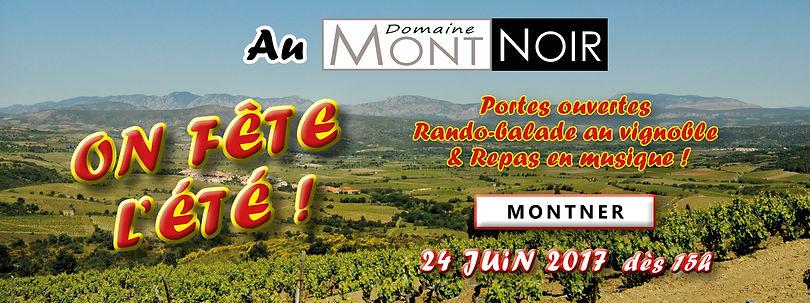 Balade gourmande 2014 au Domaine Mont-Noir