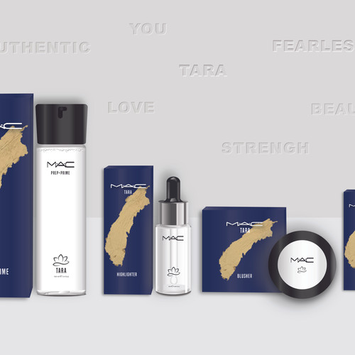 2.  ELIZABETH ANDREWS Packaging Design -