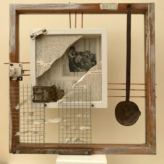Mike Hoddy - History, Opened (assemblage)