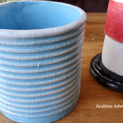 This course covers the fundamentals of building with clay. Students are encouraged to experiment making pots, ornaments, sculptures etc. from their own ideas and designs.  All main areas are covered from preparation of clay, pinch pots, building with slabs, using hump and slump moulds, coiling and design development, textures, oxides, slips and glazes.  Tutor:  Jayne Bunting