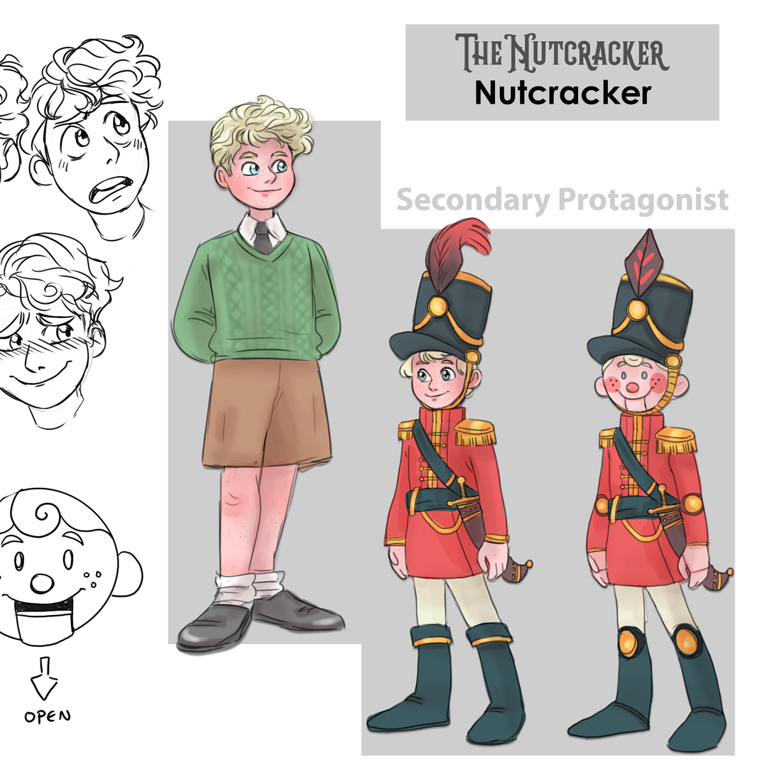 FAYE WHITE Character sheet - Nutcracker