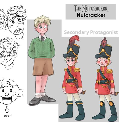 FAYE WHITE Character sheet - Nutcracker