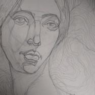 Emily Dickinson Drawing - Anna Braddick.