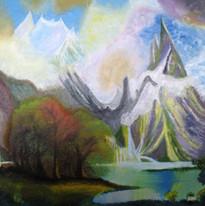 John Nicholson - Mountain lake