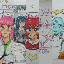 5. Ellen Voice Character design for comp