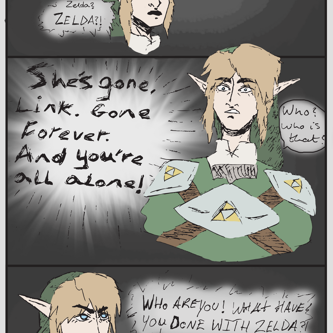4. RHEA MAIDMENT - zelda comic panel..fw