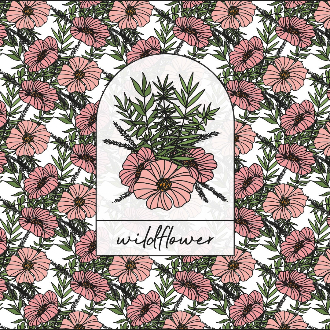 1. FRANCES SIMMONDS - A3 Wildflower Logo