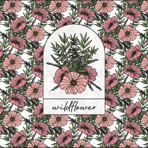 1. FRANCES SIMMONDS - A3 Wildflower Logo