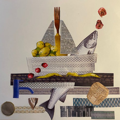 Vanessa Neal - Fish+Ships Collage