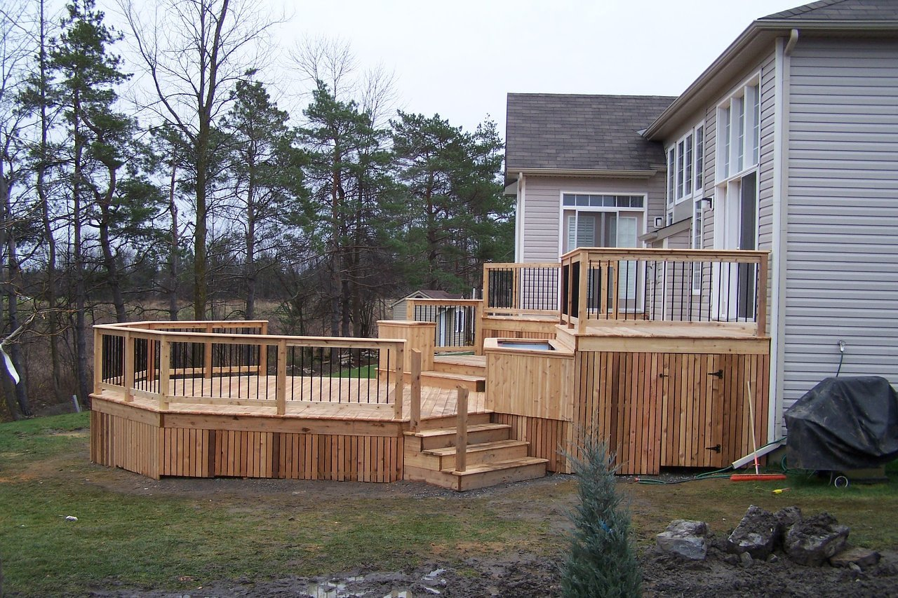 Multi-Level Deck & Storage