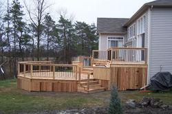 Multi-Level Deck & Storage