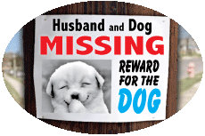 Husband & Dog...