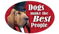 Dogs make the...