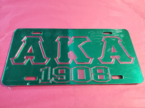 AKA Green 1908 Tag