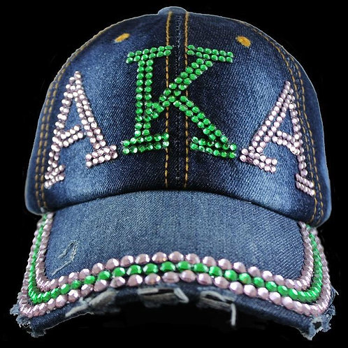Sorority Denim Bling Cap