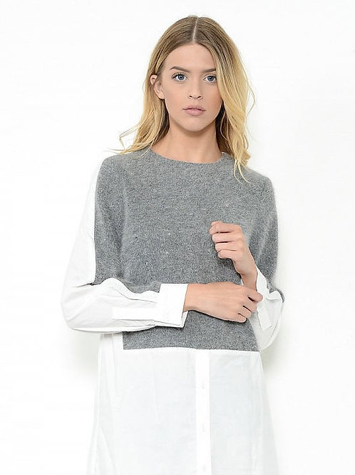 Double Layered Knit Top