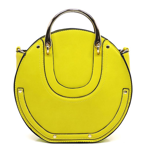 Fashion Top Handle Round Satchel