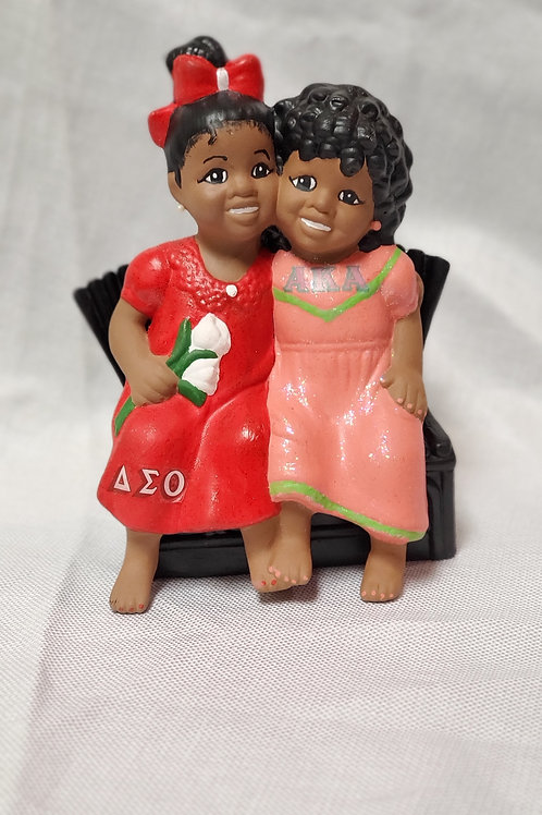 Delta/AKA Sisters for Life Figurine