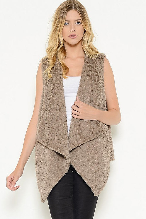 Fur Sleeveless Vest