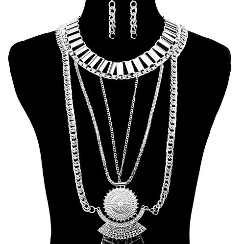 Chain with Pendant Necklace Set