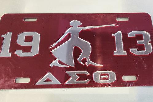 DST Diva 1913 Car Tag