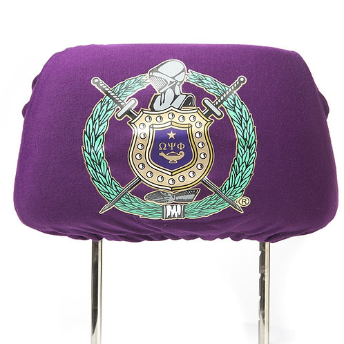 Omega Psi Phi Headrest