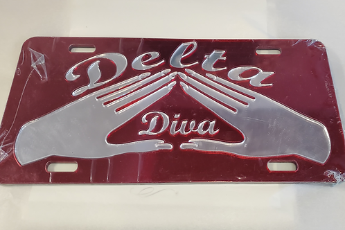 DST Hands Car Tag