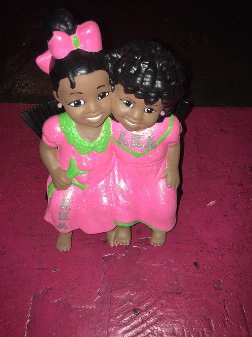 AKA Sisters for Life Figurine