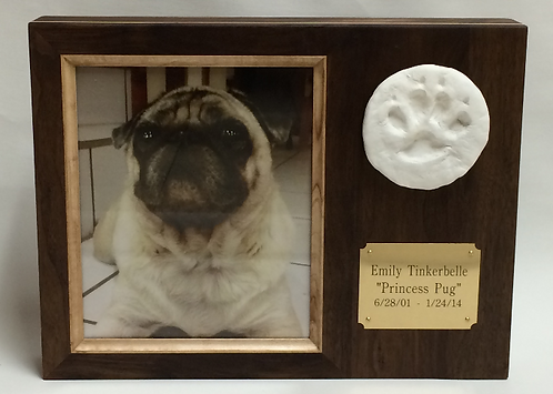 Medium PawPrint Frame -40lbs