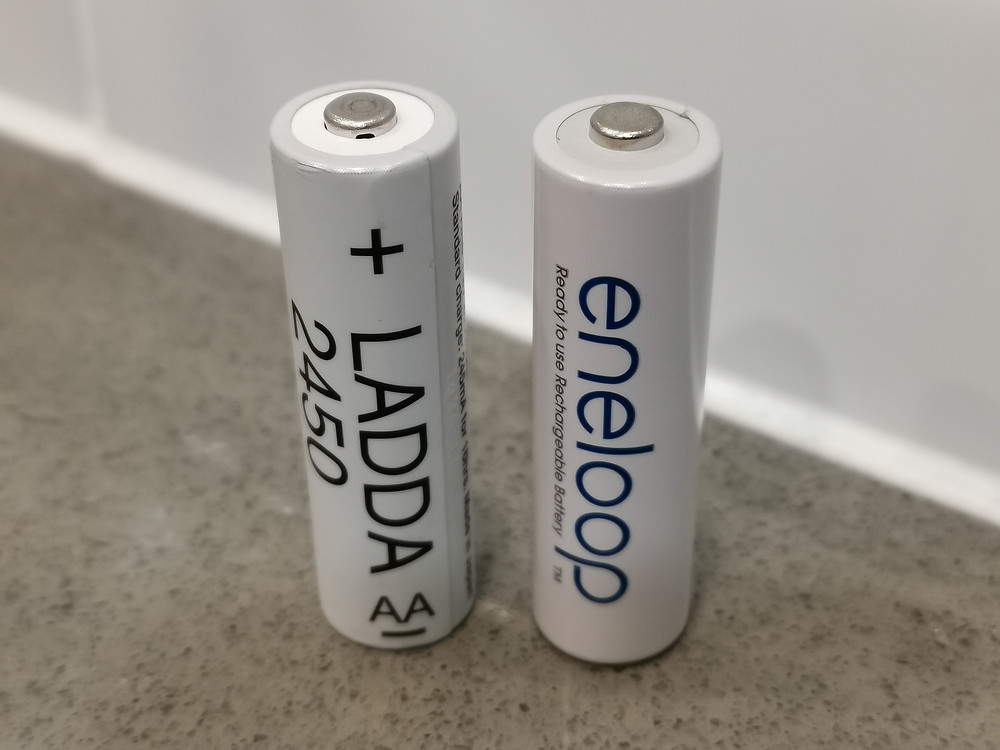 The best NiMH batteries are made by Japan's FDK. Ikea Ladda. Eneloop. .