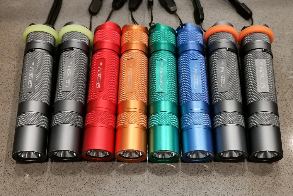 Convoy S2+ flashlights meet 95% of my illumination needs