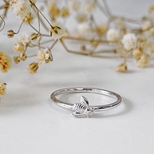 Tiny Bee Stacker Ring