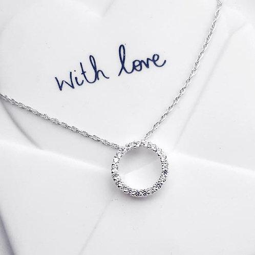 Eternal Sparkle Pendant Necklace