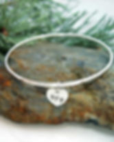 Handmade sterling silver bracelets and bangles