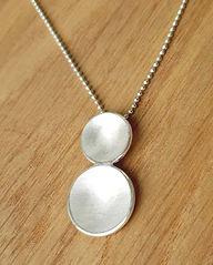 Handmade Sterling silver necklace & pendants