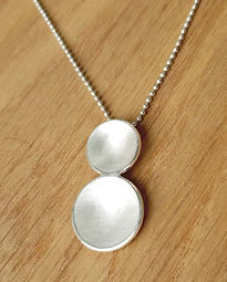Handmade Sterling silver necklace & pendants