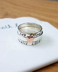 Handmade Sterling silver rings