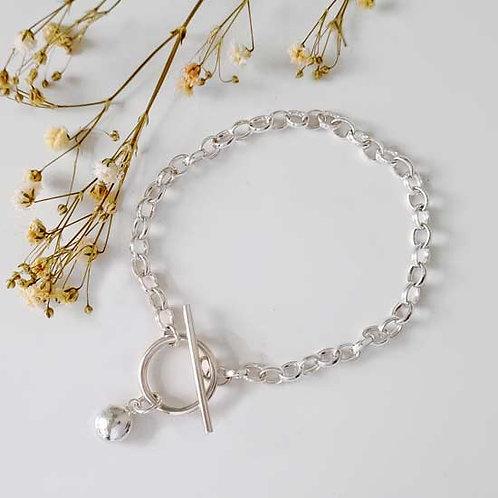 Molten Charm T-Bar Bracelet