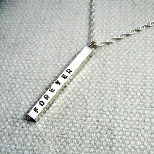 30mm Bar Pendant Necklace