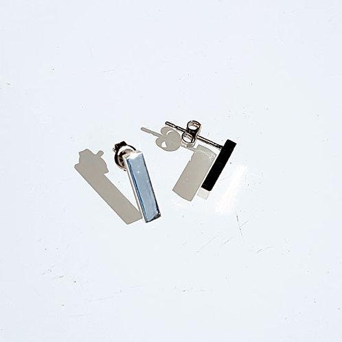 Minimal Bar Stud Earrings
