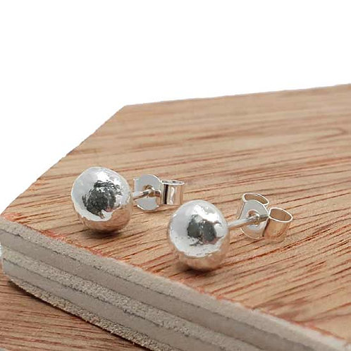 Molten Stud Earrings