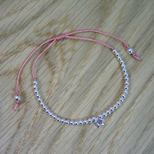 Star & Bead Friendship Bracelet