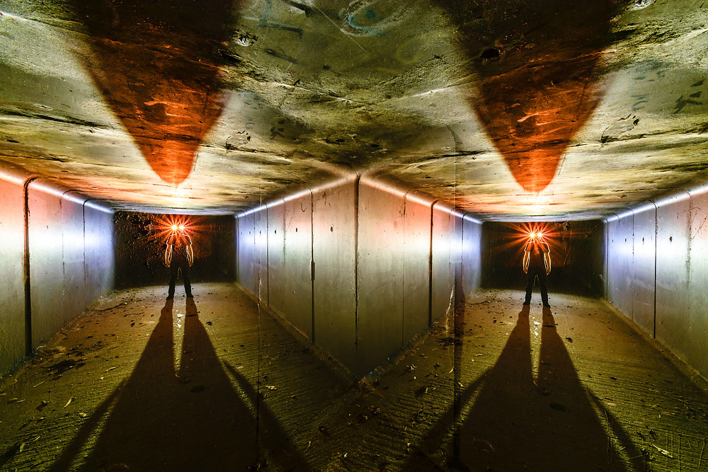 Kinetic Light Painting using tripod panning