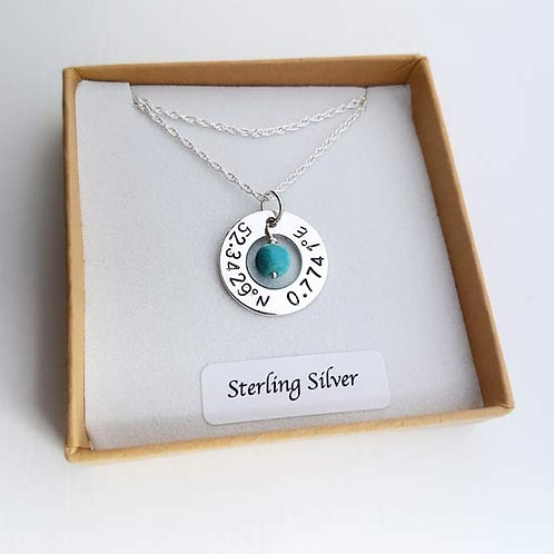 Small Washer Ring Necklace