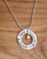 Personalised Sterling Silver Jewelley