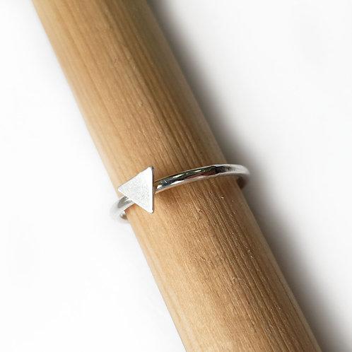 Tiny Triangle Stacker Ring