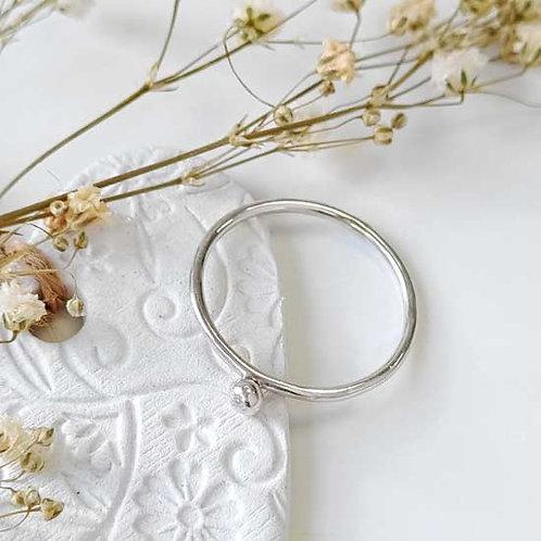 Molten Dot Stacker Ring