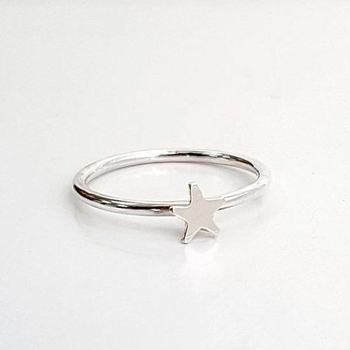 Tiny Star Stacker Ring