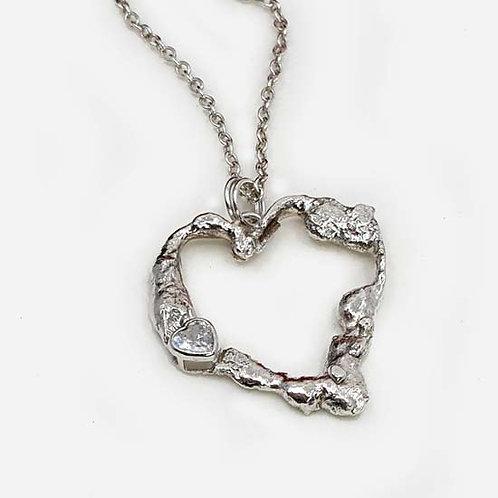 True Love Heart Pendant Necklace